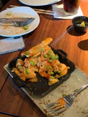 Kimchi Fries from P.F. Chang's
