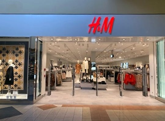 The Swedish retail apparel chain H & M opened a 21,000 square foot store in the Mesilla Valley Mall in Las Cruces in August. Seen on Tuesday, September 3, 2019.