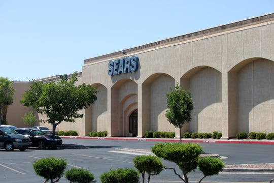 Sears store at the Mesilla Valley Mall in Las Cruces, Tuesday, September 3, 2019.