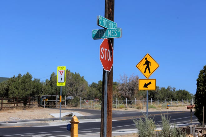 The intersection of Holmes and Foothills drives is pictured, Tuesday, Sept. 3, 2019, in Farmington.