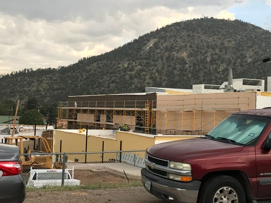 Lincoln County Medical Center is taking shape as 120 crew members work diligently to meet the completion date.