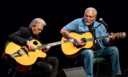 Hot Tuna, featuring Jack Casady, left, and Jorma Kaukonen.