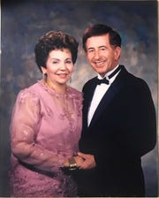 Dr. Edwin Rivera, right, with his wife, Delma Rivera.