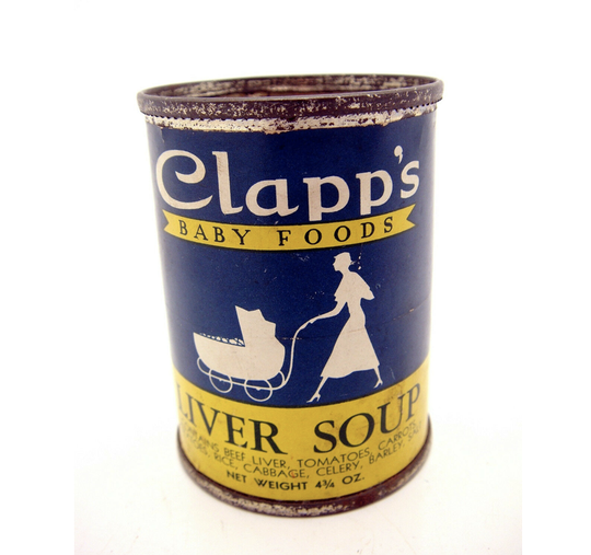 Yes, liver soup was one of the company's offerings.
