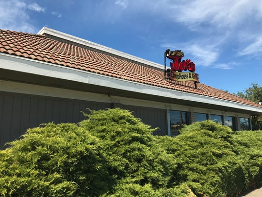Humble Joe's in the Westwood Village shopping center in Redding closed on Aug. 25, 2019.