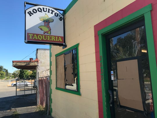 For the third time, the windows at Roquito's Taqueria on South Market Street in Redding were broken out. This time it happened over the weekend of Aug. 31-Sept. 1, 2019.