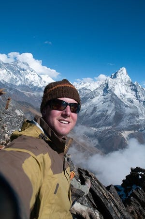The late Ross Lynn, of Gilliam, loved the mountains.
