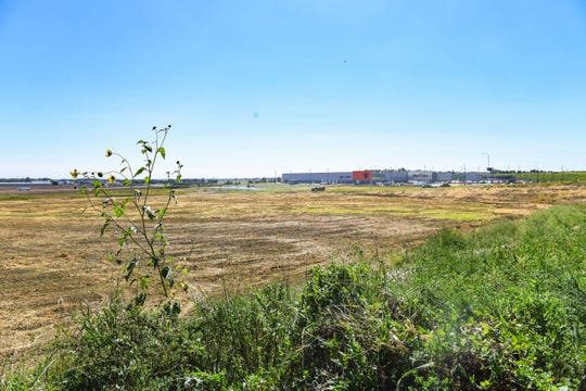 An empty plot of land is seen south of Fleet Farm on Tuesday, September 3, in Sioux Falls. Sanford Sports is looking at the land off Westport Ave. as the potential site for a new baseball stadium.