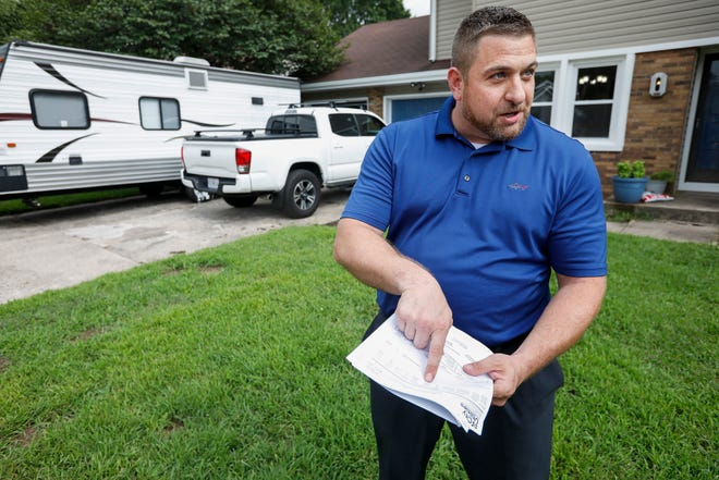 Steve Belden talks about the unusually high water he received from City Utilities.