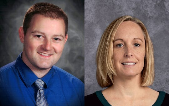 Zachary Hamby, of Ava, and Melissa Grandel, of Fordland, are finalists for Missouri Teacher of the Year.