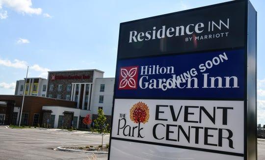 The new Hilton Garden Inn St. Cloud opened Tuesday, Sept. 3, 2019, in Waite Park.