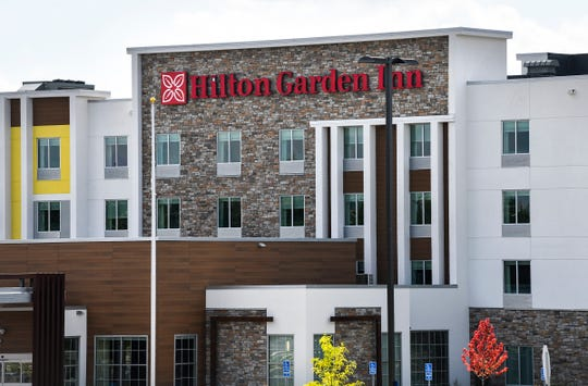 The new Hilton Garden Inn St. Cloud opened Tuesday, Sept. 3, 2019, in Waite Park. The hotel is next to the Park Event Center.