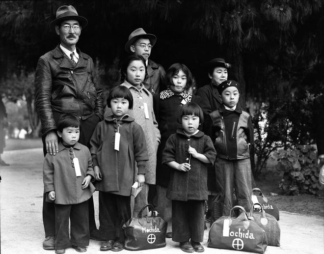 "The Smithsonian's traveling exhibit ""Righting a Wrong: Japanese Americans and World War II"" will be on display at the Stearns History Museum until Jan. 5, 2020."