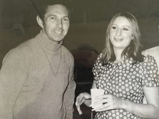 Bobby Morris with legendary singer, actress and filmmaker Barbra Streisand.