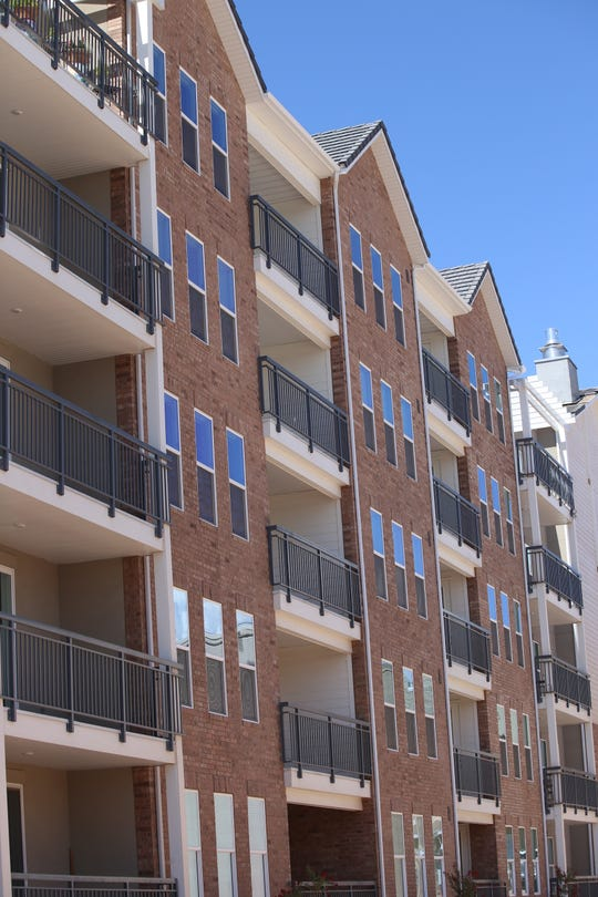 The City View apartments, recently opened in downtown St. George, are among a string of new rental options popping up in St. George as rents for single-family homes continue to rise.