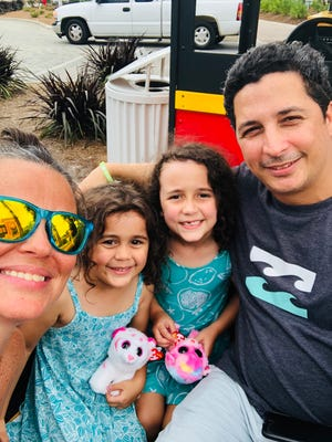 Alicea Acevedo and her husband, John, with daughters, Viv and Apollonia, enjoyed a trip to Panama City Beach on Labor Day weekend.