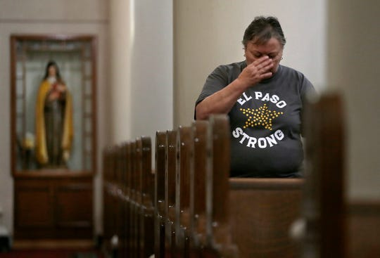 El Pasoans came together Tuesday to pray for those lost and heal at a Mass of Commemoration to mark the one-month anniversary of the Walmart shooting.