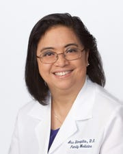 Ann Dimapilis, D.O., board certified family medicine physician with Inspira Medical Group Primary Care.