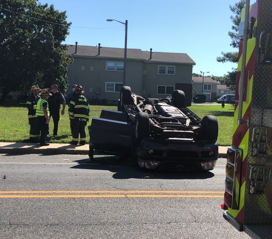 A infant sustained a minor injury after a collision Aug. 30, 2019, at East and Florence avenues in Vineland.