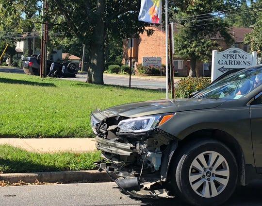 A Gloucester County woman was cited after a collision that caused the other vehicle to roll over twice along East Avenue on Aug. 30, 2019.