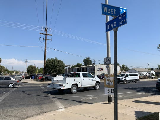 A Tulare County K9 deputy was shot by an undercover detective in Tulare on Tuesday, Sept. 3, 2019.