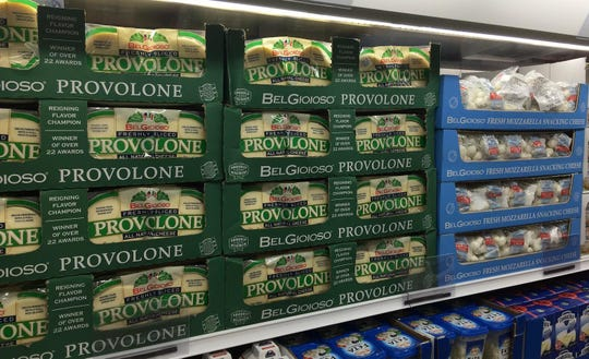 Provolone made by Belgioioso in Green Bay, Wis., joined several other made-in-America cheeses on Costco shelves during a grand opening in Shanghai.