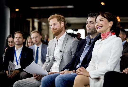Prince Harry in Amsterdam on Sept. 3, 2019.