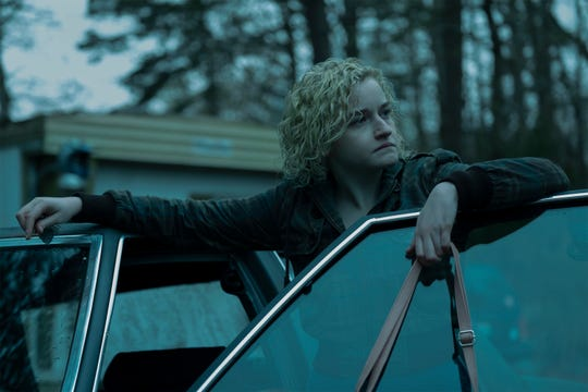 "Julia Garner in a scene from Netflix's ""Ozark."""