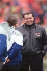 Chicago Bears head coach Mike Ditka in 1991.
