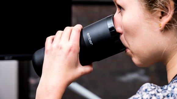 The Ember travel mug is finally on sale.