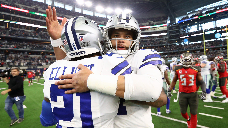 los angeles 236b8 93329 Dallas Cowboys: Dak Prescott talks Ezekiel Elliott contract ...