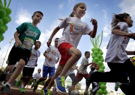 The Guardian Kids Fun Run long has been a fixture of the marathon weekend.
