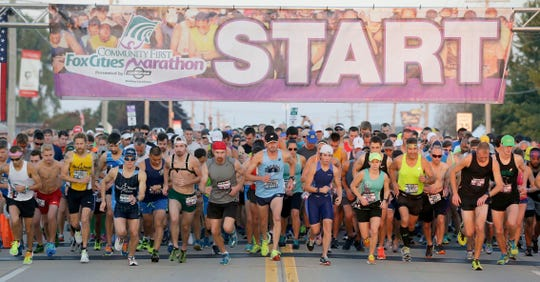 The Fox Cities Marathon was canceled for the second consecutive year. Last year it was due to poor weather forecasts. This season it's due to the COVID-19 pandemic.