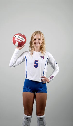 Malia Moore is a setter for the West Henderson volleyball team.