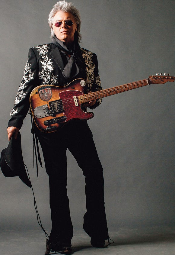 Marty Stuart & His Fabulous Superlatives play the Admiral April 17.