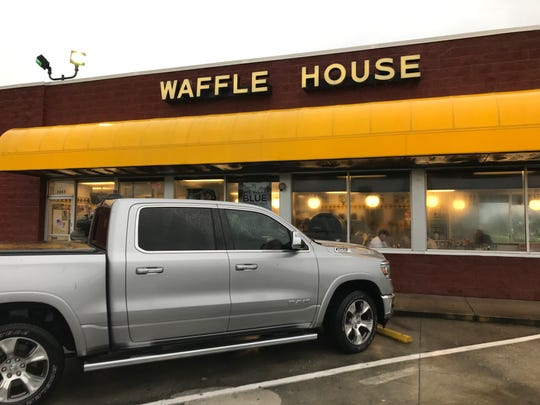 Waffle House in Cocoa Beach was open and serving breakfast Wednesday morning on Sept. 4, 2019.