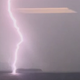 Watch lightning strike Lake Champlain as a thunderstorm rolled into Burlington, VT, on Wednesday, September 4, 2019.