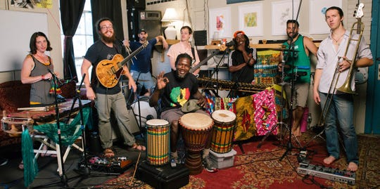 The Vermont Afrobeat group Sabouyouma plays the Grand Point North festival at 2:40 p.m. Sept. 15.