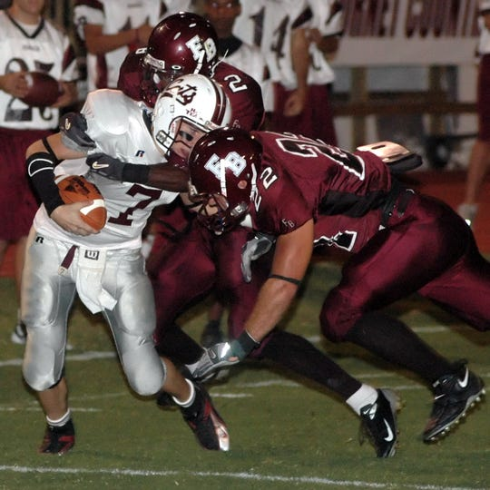 Calallen and Flour Bluff meet this week in a contest that has become one of the area's best current rivalries.