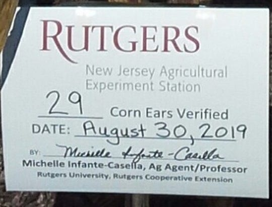 An agent with Rutgers Cooperative extension verified a Deptford family's cornstalk had 29 cobs. The family has has applied to Guinness World Records, contending their cornstalk beats the current record of 16 cobs, set in Iowa.