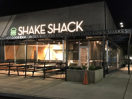 A Shake Shack is nearing completion off Haddonfield Road near Garden Park Boulevard in Cherry Hill.