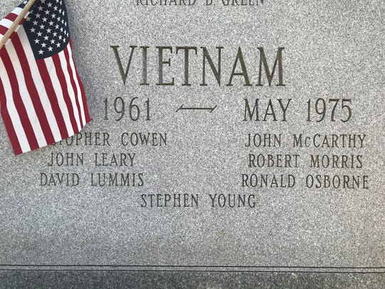 Collingswood graduates to honor Stephen Young, Vietnam casualty
