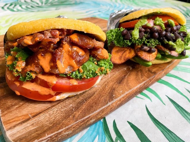 Arepas from Que Ricas will be offered at the new Westmont restaurant, set to open later this fall.