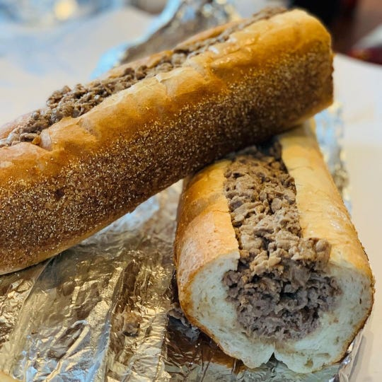 Cilento Sandwich Company's cheesesteak is a popular order.