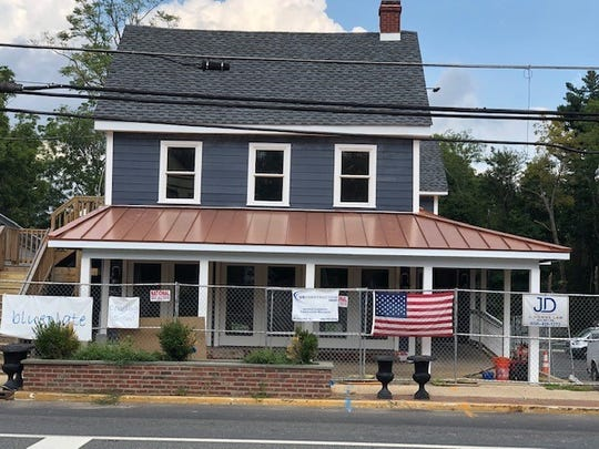 Finishing touches are still being completed on blueplate, the Mullica Hill farm-to-fork restaurant, which will reopen Monday after closing for a year following a fire.