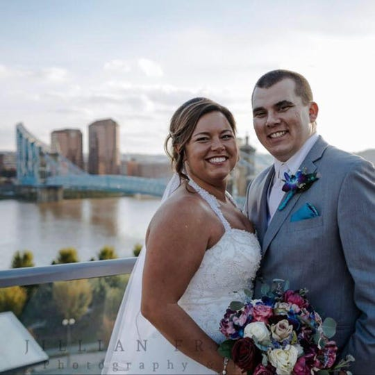 Fox 19/ Danielle Brosious pictured with her husband Matt Brosious