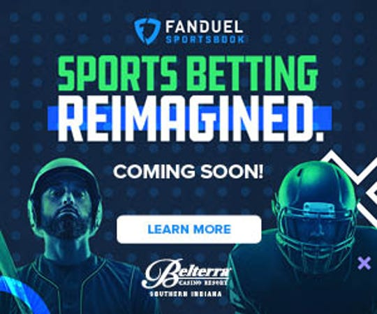 FanDuel Sportsbook at Belterra Casino logo