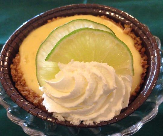 Key lime tartlet from Market Roost Restaurant, Catering & Bakery.