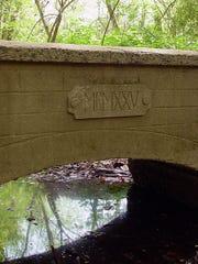 Remnants of the El Dorado Gardens in Springfield.