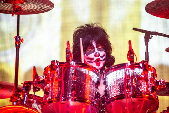 Kiss rocks the Wells Fargo arena on the End of the Road World Tour Tuesday, Sept. 3, 2019.